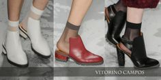 Sapatos Vitorino Campos - Inverno 2014  http://blogdesapato.wordpress.com/2013/10/31/sapatos-da-spfw-outonoinverno-2014-primeiros-desfiles/