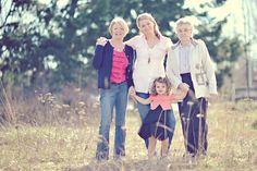 Erin Wallis & four generations. photo: her friend Shannon