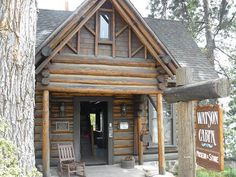 The Watson Cabin Museum is located in Tahoe City at Lake Tahoe