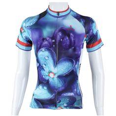 "PALADIN "" Violet "" Womens Short Sleeve Cycling Jersey Bike Shirt"