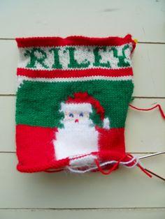 Riley's Christmas Stocking WIP