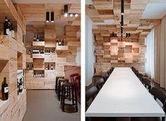 En el diseño interior de esta tienda de vinos en Zurich el estudio suizo OOS utiliza como único elemento de diseño las propias cajas de ...
