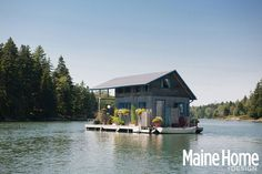 Tour This Floating Cabin in Maine - Maine Home and Design