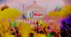 Wish you a very happy and colorful Holi! Read More: http://bit.ly/2mJJW9a #HappyHoli #colorfulholi #Holi2017