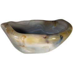 BRENDA HOUSTON DESIGNS Agate Bowl Decorative Objects, Decorative Bowls, Back To Nature, Organic Shapes, Natural Materials, Houston, Agate, Spiritual, Antiques