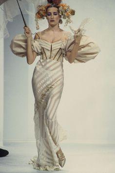 8ab28c1a29 John Galliano Spring 1993 Ready-to-Wear Fashion Show