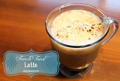 French toast latte
