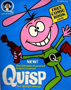 Why does Quisp have a gun?