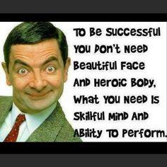 Mr. Bean. My favorite. Nice quote, too! #AdlandPro  #Community