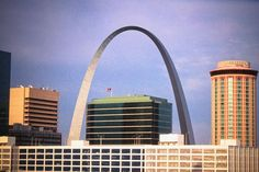 Laborers in the United States have created many amazing sites. The union workers who helped construct the Gateway Arch did not view themselves as artists, but they made one of the most stunning monuments in this nation.  #gatewayarch #stl #saintlouis #architecture