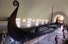 Vikingskipshuset Oslo, #norway stunningly well preserved Viking ship in the museum pic.twitter.com/hlEpcqicX8