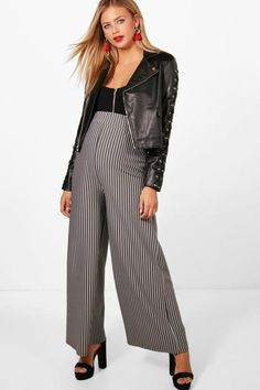 boohoo Maternity Chelsea Stripe Tailored Trouser