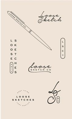 The Art of Sketching: Three Reasons we love sketching to develop logos and brand identities. The importance of keeping a sketchbook on-hand and strengthening your creative muscle. #coasttocoaststudio #sketchbook #sketching #logodesign #logo #branding #brandidentity #brand #graphicdesign