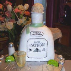 Unique Cakes D Patron Tequila Bottle Unique Custom Birthday - Patron birthday cake