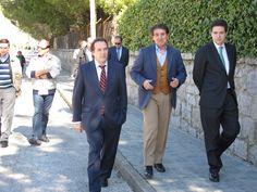 Borja Sarasola visita Becerril de la Sierra para inaugurar las obras que renovarán el asfalto de 7 calles de la localidad.
