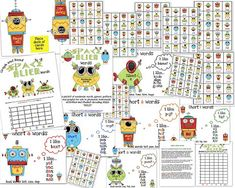 I just finished creating my Space Alien Nonsense Words Packet for Teachers Notebook! As soon as I printed these sheets, Audrey was full of giggles and wanted to participate in the activities.  Why nonsense words? When children begin to learn to read they often start guessing at words. For example, if the see the...