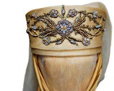 Olenna Tyrell's head piece for Margaery's wedding