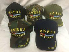 military korea veteran hat/cap Case of 24