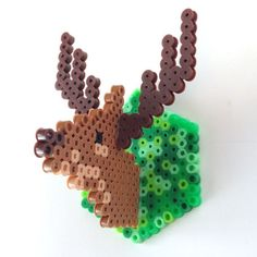 Making this 3-D fuse bead deer head is deceptively simple and so much fun for kids and adults alike.