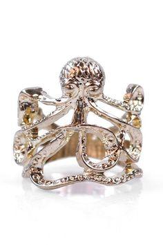 Elle Octopus Ring by Eye Candy Los Angeles on @HauteLook