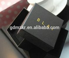 Luxury Custom LOGO Paper Jewelry Bracelet Box Packaging And Watch Box Packaging