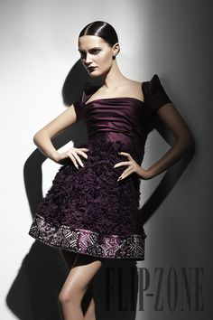 "Georges Hobeika ""Signature"", Fall-winter 2010-2011 - Ready-to-Wear - http://www.flip-zone.com/georges-hobeika-1773"