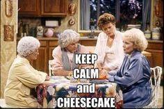 golden girls + cheesecake