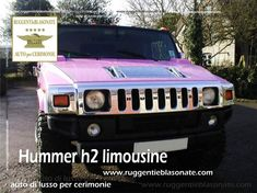 Limousine Hummer H2 per cerimonie