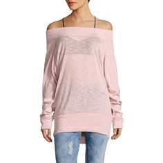 dcace2fe279a23 Free People Women s Palisades Off-The-Shoulder Top ( 68) ❤ liked on