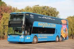 Coach USA and Coach Canada's sizable fleet grabbed the second spot on our Top 50 list once again. Shown: a megabus vehicle, representing a subsidiary of Coach USA.