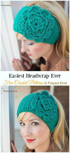 crochet headband pattern Trending Women Ear Warmer Free Crochet Patterns: Crochet Flower Ear Warmer, Crown Earwarmer, Knit Look Earwarmer, BOHO Earwarmer/Headband, girls gifts Crochet Ear Warmer Pattern, Crochet Mittens Free Pattern, Crochet Flower Patterns, Knit Or Crochet, Crochet Flowers, Crochet Hats, Hat Patterns, Crochet Ear Warmers, Pattern Flower
