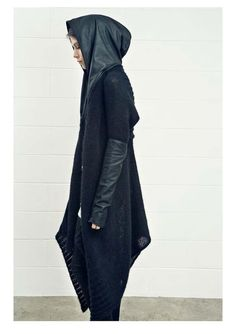 leather and knitwear by Isabel Benenato.