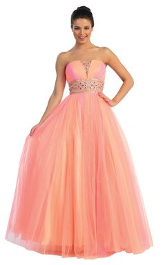 Prom DressBall Gown under $2008260Spring Inspired!
