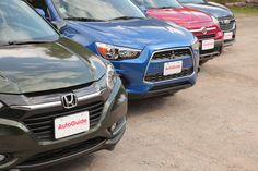 What makes a subcompact crossover? We gathered the Mazda CX-3, Honda HR-V, Fiat 500x, Jeep Renegade, Mitsubishi Outlander Sport, Chevrolet Trax and Nissan Juke to find out.