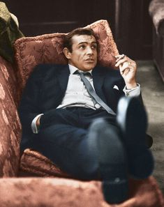 """When it comes to that """"classic"""" male look there are plenty of film stars from the 1940's-60's who capture it well, but I think no one would dispute the Sean Connery version of James Bond's sense of suave style."""