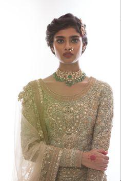 "shaadifashion: "" Sabyasachi Bridal Photo by Vinit Bhatt Jewels By Falguni Mehta """