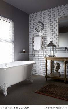 Bathrooms colors | White & Grey| Majeka House, Photo: Adam Letch, Decorating: Etienne Hanekom