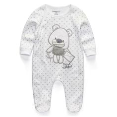 Baby Clothing 2017 New Newborn Baby Boy Girl Romper Clothes Long Sleeve Infant Product ($5.45)