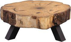 Tree Stump Coffee Table, Tree Trunk Table, Bohemian Interior Design, Rustic Home Design, Hardwood Furniture, Log Furniture, Decor Crafts, Diy Home Decor, Cypress Wood