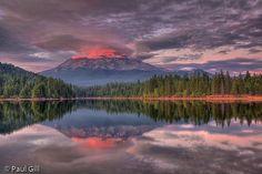 Mt. Shasta Eruption