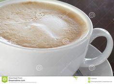 Photo about A Beautiful cup of Caffe Latte closeup. Image of coffee, breakfast, latte - 27022546 Coffee Images, Espresso, Milk, Breakfast, Tableware, Food, Espresso Coffee, Morning Coffee, Dinnerware