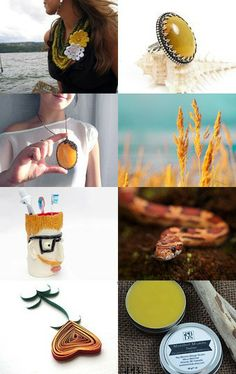 yellow by Bartek on Etsy--Pinned with TreasuryPin.com