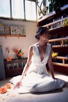 Christina Sfez - Robes de mariée | Modèle: Robe Marcelle | Crédits: Lucie Cipolla | Blog mariage
