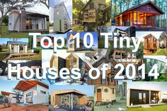 The top 10 tiny houses featured on Humble Homes in 2014. See them all here: http://humble-homes.com/top-10-tiny-houses-2014/