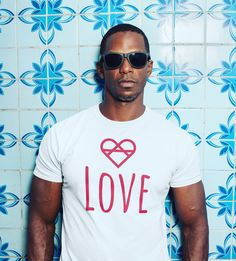 Tap the link to shop now and help us spread more love in the world! ❤️ Love Wall, Love Clothing, Spread Love, Love T Shirt, Man In Love, Fabric Design, Shop Now, Unisex, Link