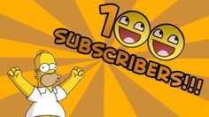 100 subs Thank you video