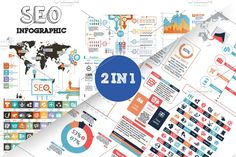 @newkoko2020 32% OFF SEO Infographic Bundle by Infographic Paradise on @creativemarket #infographic #infographics #bundle #download #design #template #set #presentation #vector #buy #graph #discount