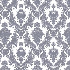 Tempaper DAMSEL OYSTER Wallpaper - Tempaper Designs