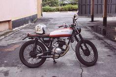 CG 125 Brat by Marcus Tomaselli   Garagem Cafe Racer