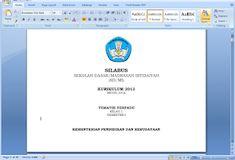 Download Silabus K13 Revisi 2018 (Format Delapan Kolom) dan Buku Nilai Harian K13 Microsoft Excel, Microsoft Office, Page Layout, Proposal, Education, Words, Gandhi, Origami, Islam